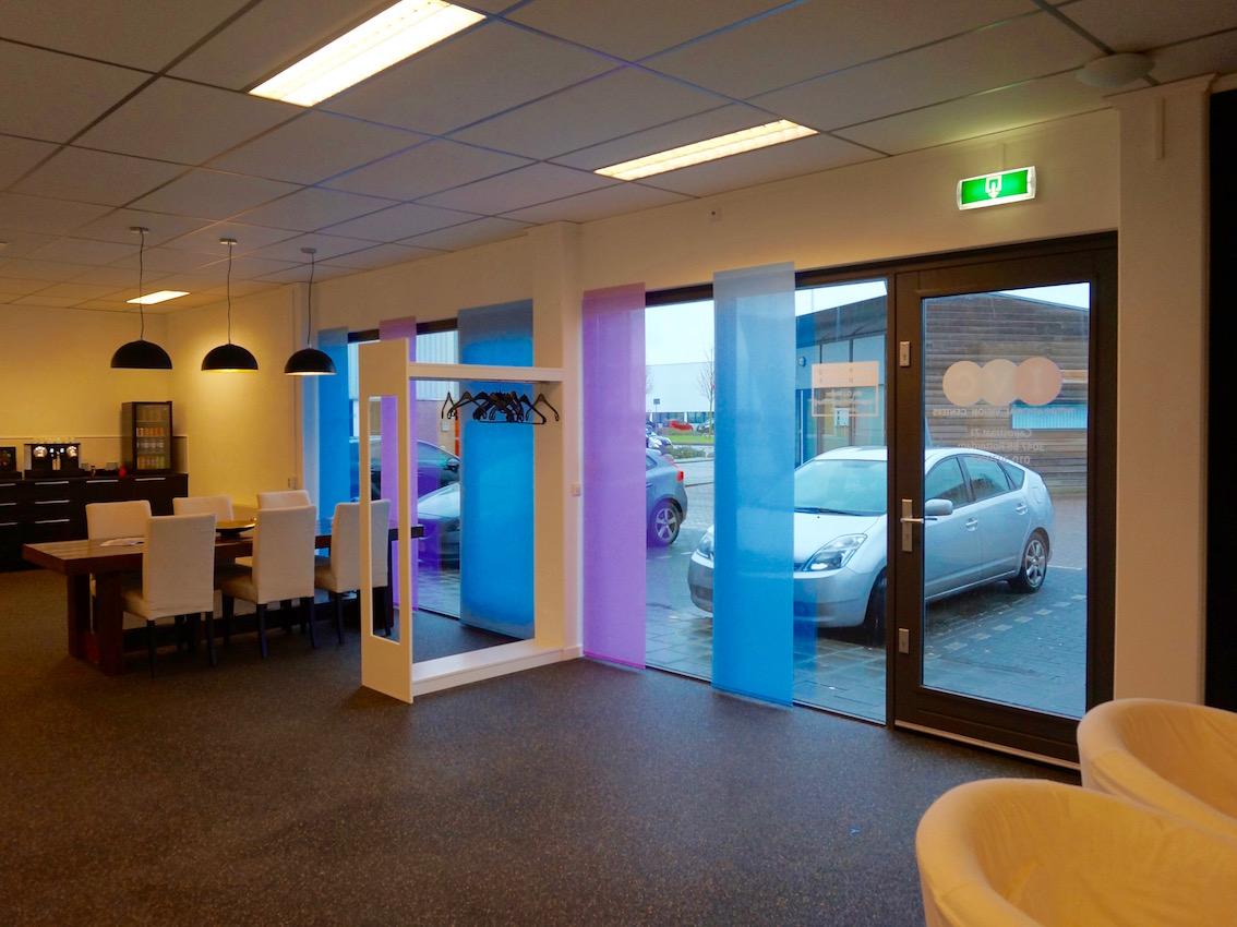 Paneelgordijnen interieur IVC Rotterdam